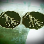 caveman cufflinks